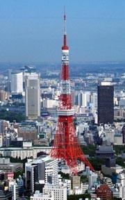 Tokyo Tower - с вертолета